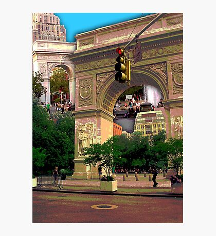 Washington Square Arch, Greenwich Village, NYC, NY Photographic Print