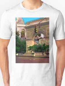 Washington Square Arch, Greenwich Village, NYC, NY T-Shirt
