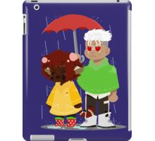 sinning in the rain iPad Case/Skin