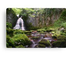 Wharfedale Waterfall Canvas Print