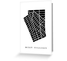West Village Greeting Card