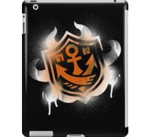 Splatoon Inspired: Graffiti Ranked Battle Icon(White) iPad Case/Skin