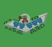 YuGiOh - Its Time to Duel! Kids Clothes