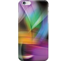 Magnetic Light Flux Abstract (2) iPhone Case/Skin