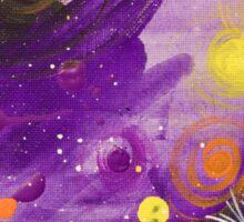 """Nimiety Star-Gazer"" by Asra Rae Sticker"