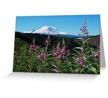 Summer at Mt. Rainier Greeting Card