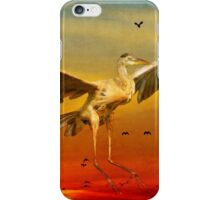 The arrival and the reuinion iPhone Case/Skin
