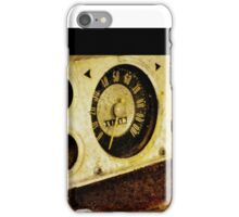 Rusted Insturment Panel iPhone Case/Skin