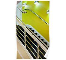Yellow Stairway Poster