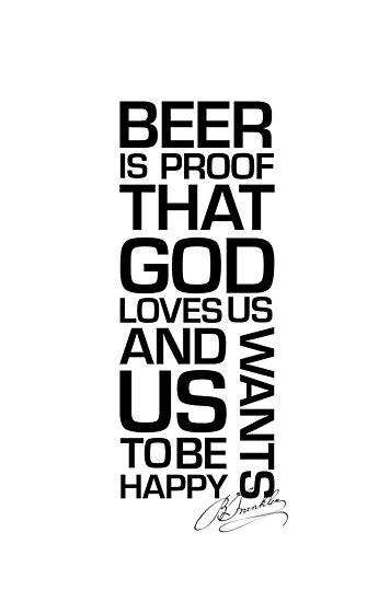 Beer Quote  by Ezra-David Saul