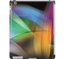 Magnetic Light Flux Abstract iPad Case/Skin