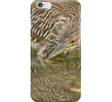 Timid reflection iPhone Case/Skin