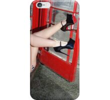 BRITISH PHONEBOX iPhone Case/Skin