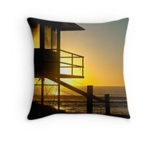Mudjimba Sunrise Throw Pillow
