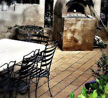 Outdoor Pizza Parlor by Rinaldo Di Battista