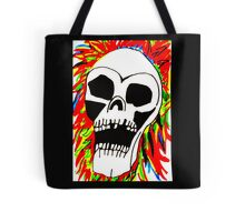 THE SCREAMING SKULL Tote Bag