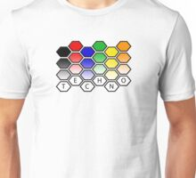 Techno Level Pattern Unisex T-Shirt