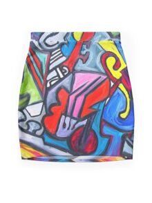 Musical Instruments Mini Skirt