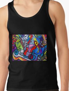 Musical Instruments Tank Top