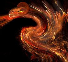 Flame dragon by Carol and Mike Werner