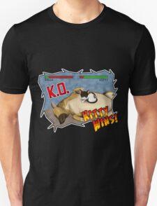 Kitty Wins!! Unisex T-Shirt