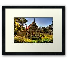 All Aboard - Medlow Bath Station Masters Cottage, Sydney - The HDR Experience Framed Print