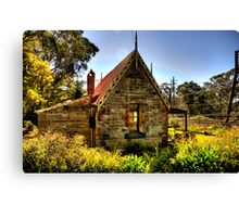 All Aboard - Medlow Bath Station Masters Cottage, Sydney - The HDR Experience Canvas Print
