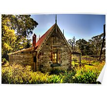 All Aboard - Medlow Bath Station Masters Cottage, Sydney - The HDR Experience Poster
