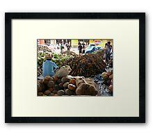 Market at Santarem, Brazil Framed Print
