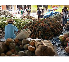 Market at Santarem, Brazil Photographic Print