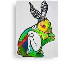 Rabbit's Hive Canvas Print