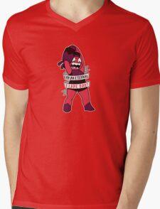 I Am an Eternal Flame Baby! (Ruby)  Mens V-Neck T-Shirt
