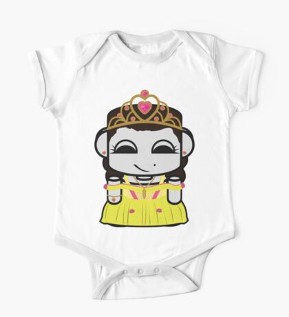 Princess Zoha O'babybot One Piece - Short Sleeve