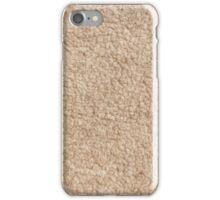Merino fur or wool texture iPhone Case/Skin