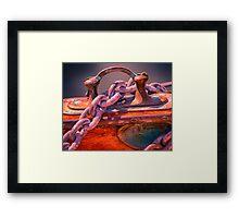 Anchor Chain Framed Print