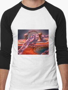 Anchor Chain Men's Baseball ¾ T-Shirt