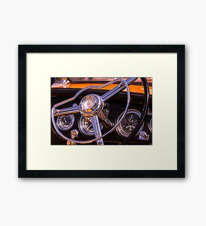 Chromed Cruiser 1 Framed Print