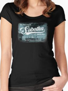 Re-Elect Frank Sobotka - the Wire Women's Fitted Scoop T-Shirt