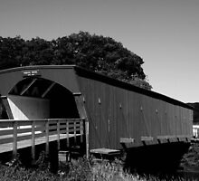 Hogback Bridge- The Covered Bridges of Madison County, IA by rwhitney22