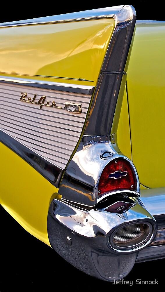 BelAir tail fin in yellow by Jeffrey  Sinnock