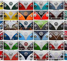 VW Camper Van Montage by samcmoore