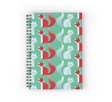 Foxes Spiral Notebook