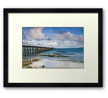 Point Lonsdale Pier Framed Print