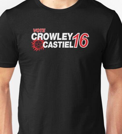 Crowley / Castiel 2016 Unisex T-Shirt
