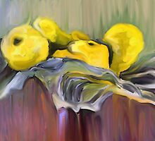 Yellow Pears  by suzannem73