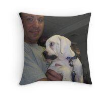 Frank & Leilah Throw Pillow