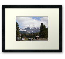 Mt. Robson, Canadian Rockies. Framed Print