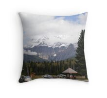 Mt. Robson, Canadian Rockies. Throw Pillow