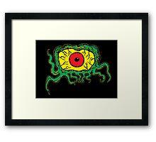 Crawling Eye Monster Framed Print