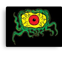 Crawling Eye Monster Canvas Print